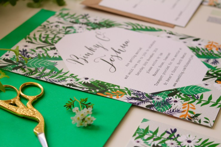 Geri Loves Emi Paper Co. | British wedding blog - Bride and Tonic
