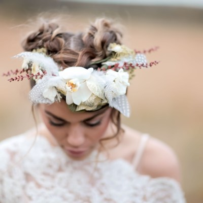 We Love: Dreamy Bridal Hair and Flower Crowns by Wild Rose Hair