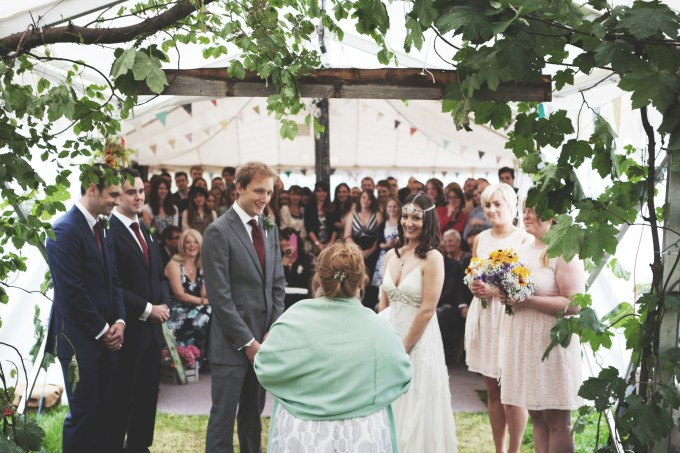 A camping wedding // Nikki + Andy | British wedding blog - Bride and Tonic