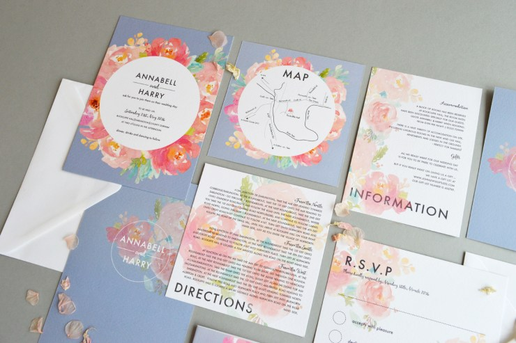 We love: Luxury stationery from Amanda Michelle | British wedding blog - Bride and Tonic