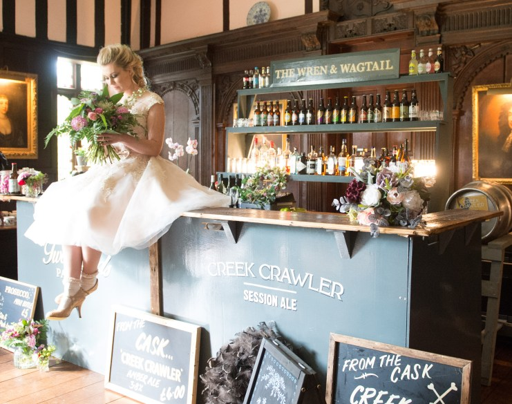 We Love: Quirky, Rustic Wedding Bars from Gather Bars | British wedding blog - Bride and Tonic