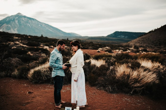 A Volcanic Vow Renewal in the Canary Islands // Sara + Alberto | British wedding blog - Bride and Tonic