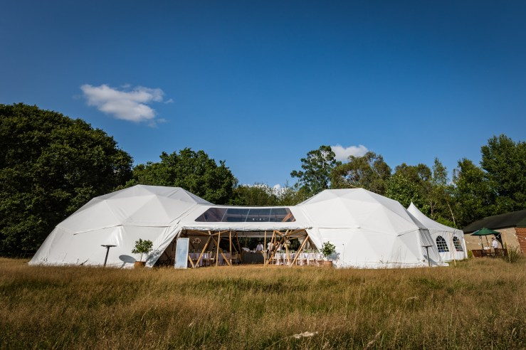 We Love: Alternative Wedding Dome Makers Baya Hire | British wedding blog - Bride and Tonic