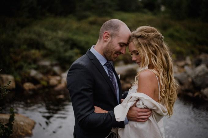 A Wild and Intimate Wedding on Fogo Island, Newfoundland // Carling + Matt