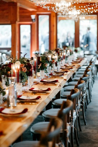 A Beautiful Christmas Tree Farm Wedding in Washington // Katie + Myles | British wedding blog - Bride and Tonic