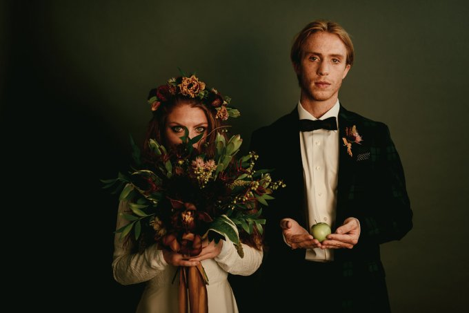 Styled Shoot || An Opulent, Wes Anderson Inspired Fall Wedding | British wedding blog - Bride and Tonic