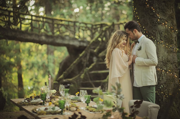 Styled Shoot A Magical Fairytale Wedding In Portugal