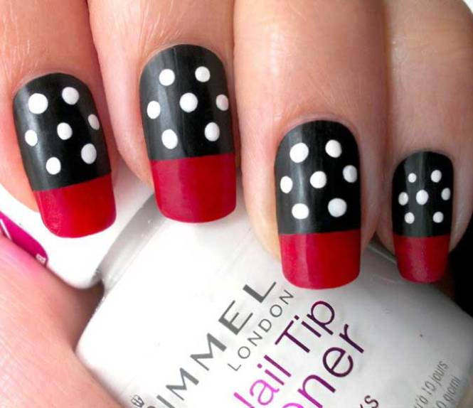 The Dotted Row Nails