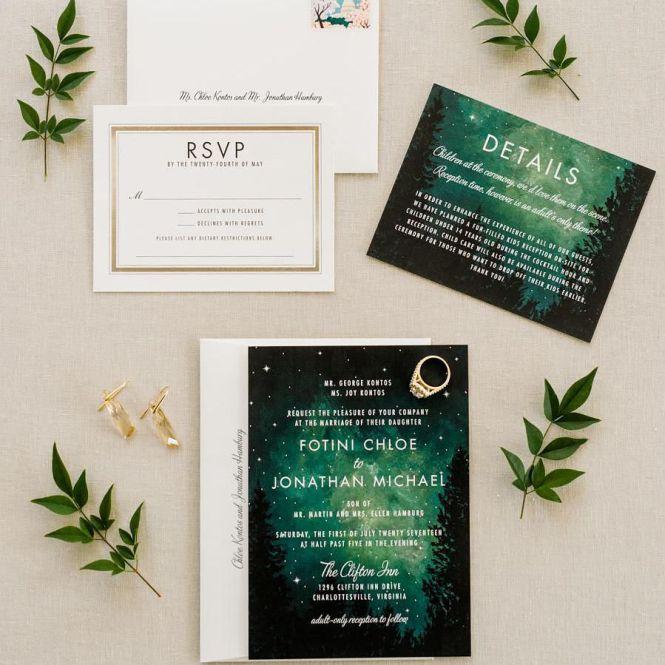 30 Creative Wedding Invitations For
