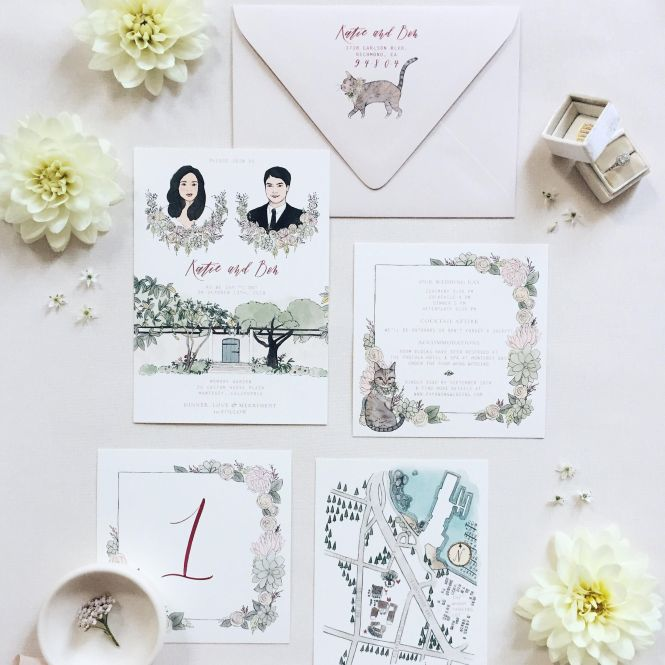 Wedding Invitations You Can On Etsy