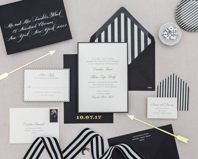 8 Elegant Wedding Invitations To Set