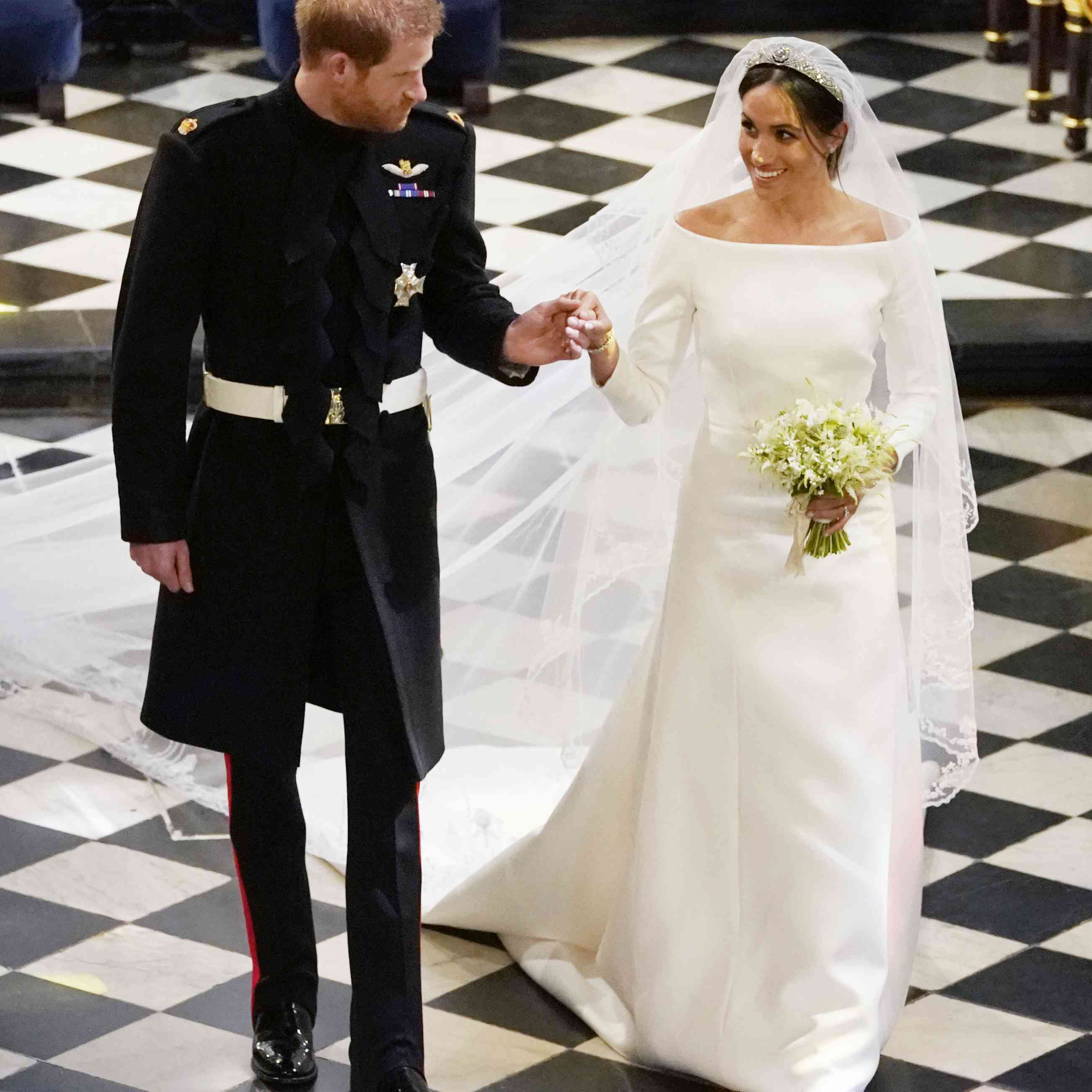 39 Of The Most Iconic Royal Wedding Dresses Throughout History