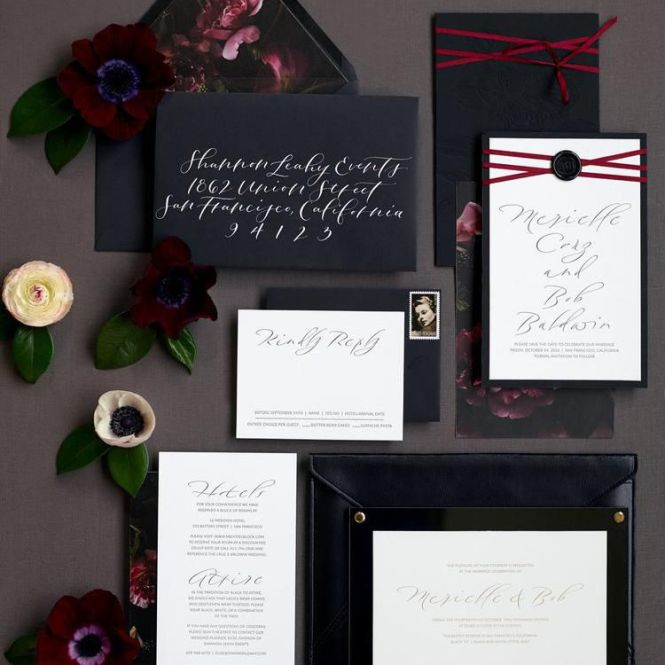 8 Elegant Wedding Invitations To Set The Tone For Your