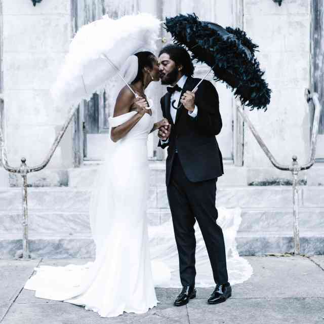 this festive new orleans wedding almost didn't happen!