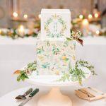 28 Square Wedding Cakes