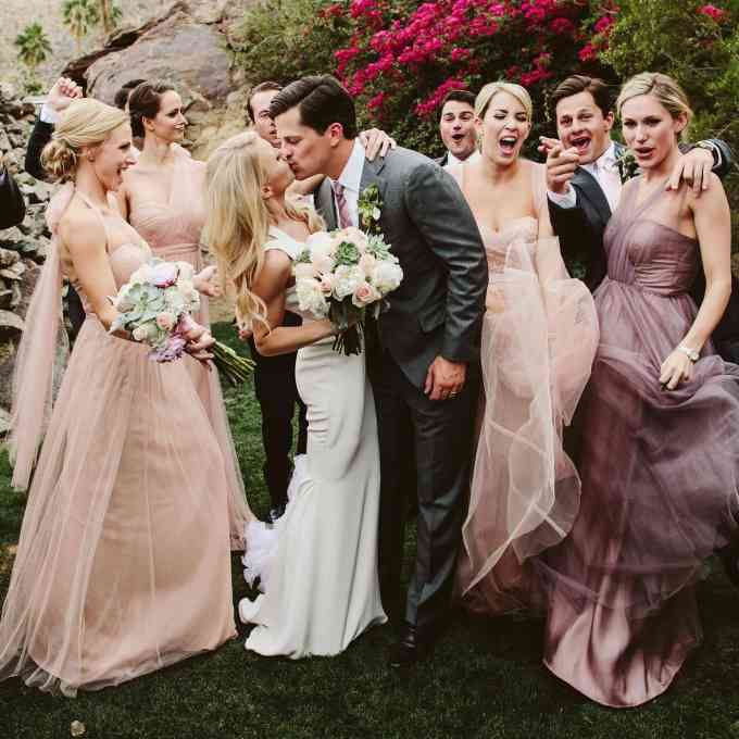how to figure out the order of bridesmaids and groomsmen at