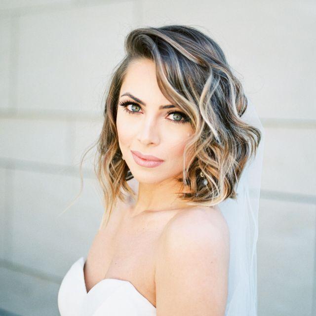 17 wedding hairstyles for medium length hair