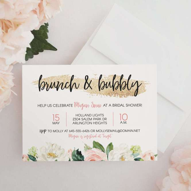 Bridal Shower Invitation Wording 101 Everything To Include