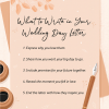 How To Write A Wedding Letter To Your Partner