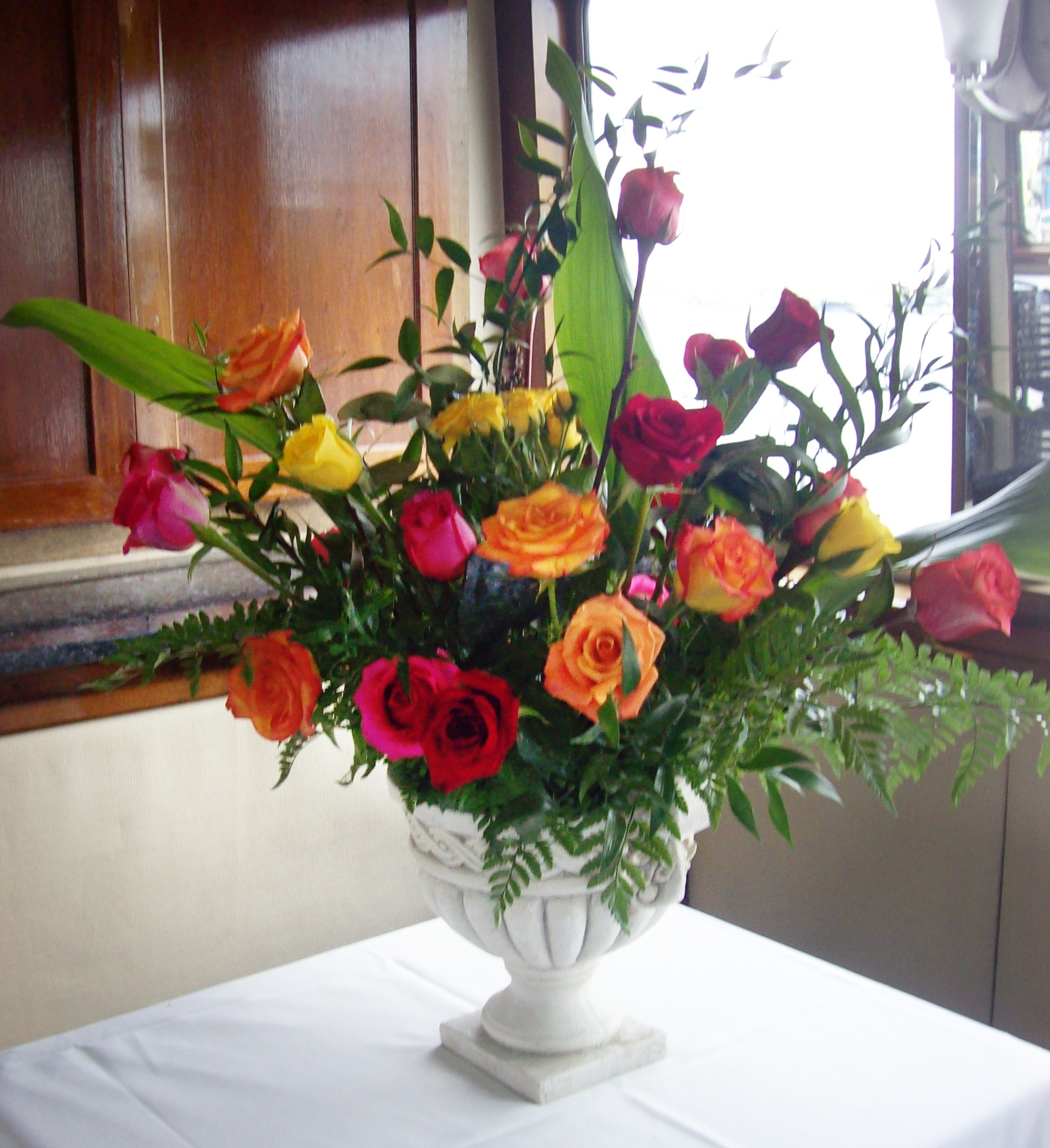 Rose Arrangement for Any Area
