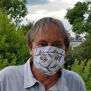 COVID19 Patrice Bauche masqué