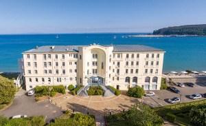 Le Grand Hotel de la mer à Morgat