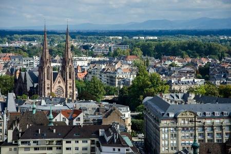 Cathédrale Strasbourg Réveillon Bridge en Croisière sur le Rhin