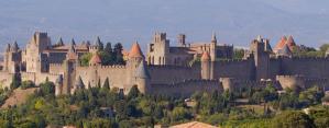 La cité de Carcassonne en Languedoc Roussillon