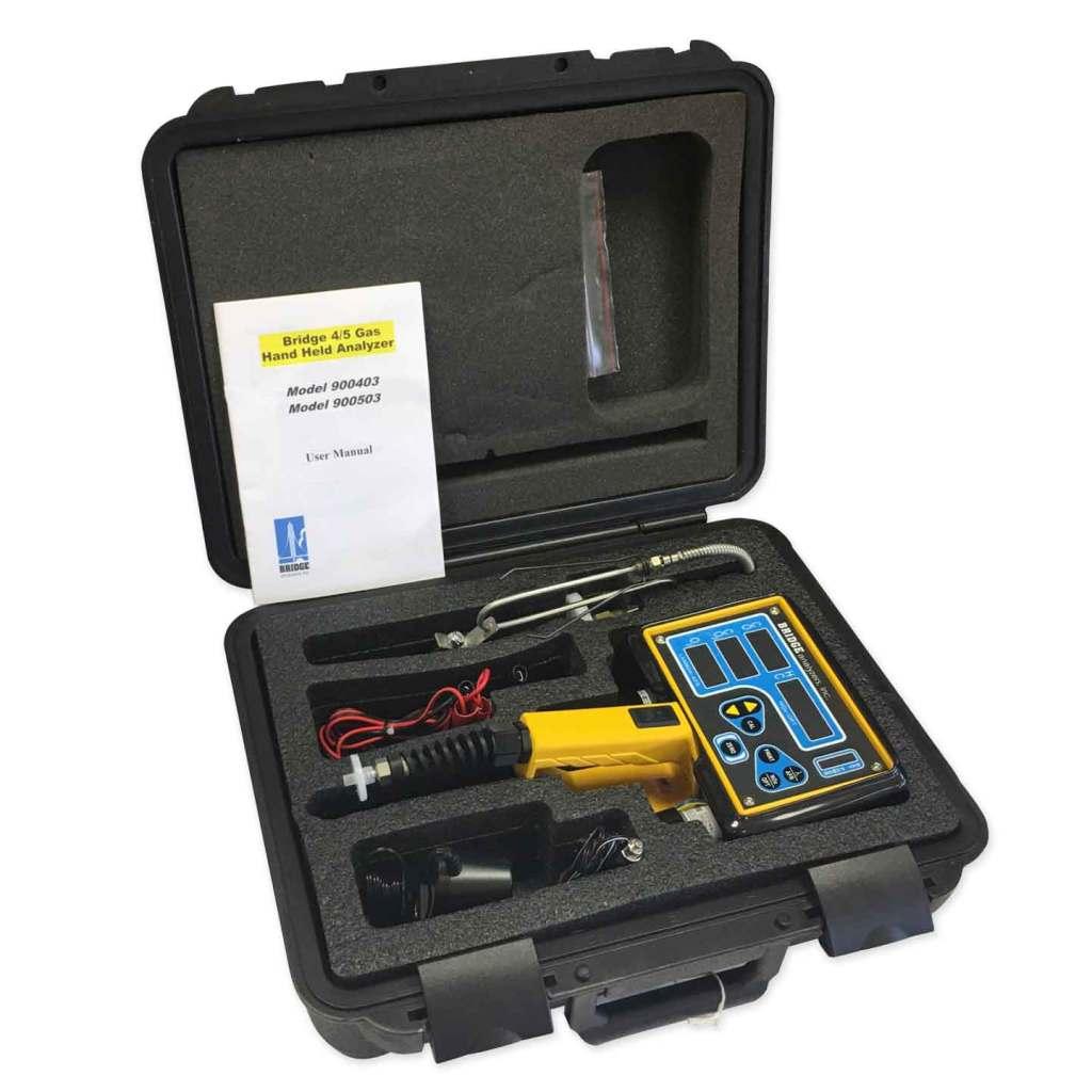 4 Gas Analyzer (Exhaust Gas Analyzer) – CO/CO2/HC/O2