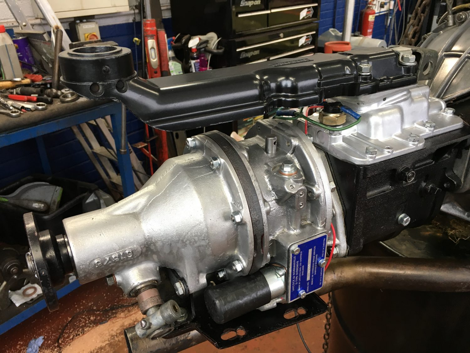 Triumph Gt6 Engine Gearbox And Overdrive