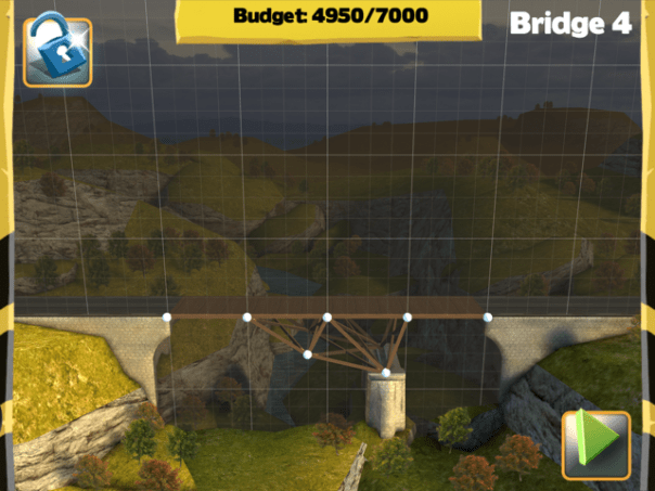 Picture of Bridge Constructor Walkthrough - Westlands - Bridge 4 Imagen Bridge Constructor Tutorial - Westlands - Puente 4