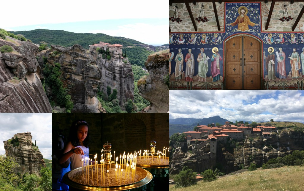 Monastery Collage