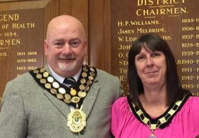 Congratulations to the New Mayor of Bridgend Town