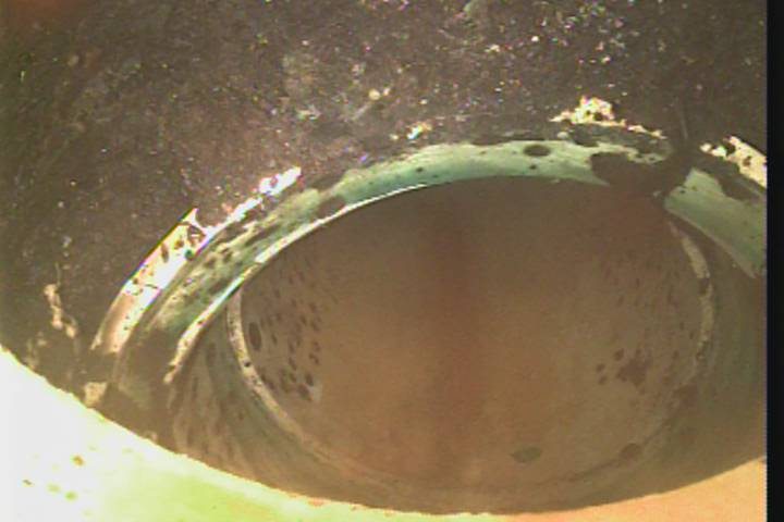Sewer Camera - Broken Joint