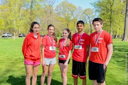Derby Middle School Running Club.