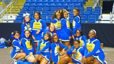 Harding High Cheerleaders