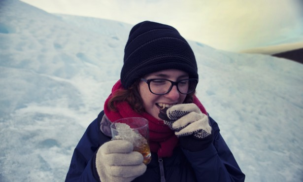 Alfajores and Whisky at Perito Moreno