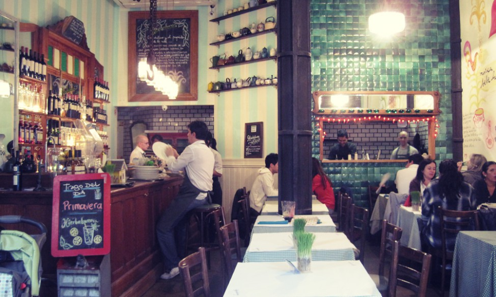 Best vegetarian restaurants in Buenos Aires | Hierba Buena
