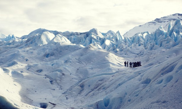 Hiking Perito Moreno