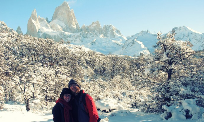 Steve, Victoria and Fitz Roy