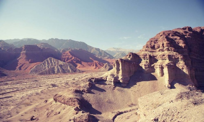 Wild landscapes of the Quebrada de Cafayate