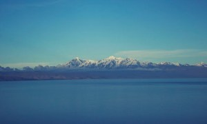 Blues of Lake Titicaca