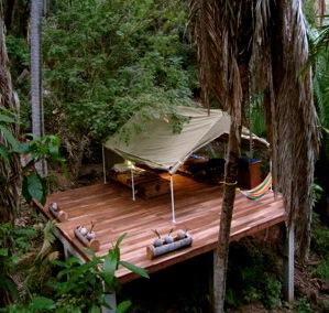 Tailwind Jungle Lodge bungalow