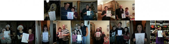 Family Christmas wishes