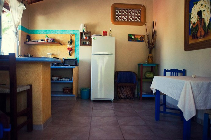 Kitchen apartment San pancho Mexico