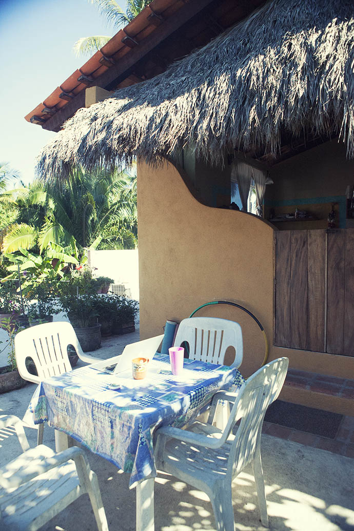 My office San Pancho mexico