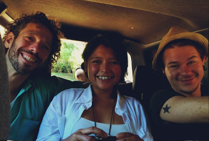 The road trip crew to Paracho
