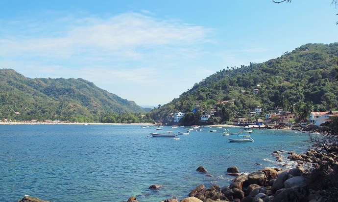 Yelapa bay from casa Isabel