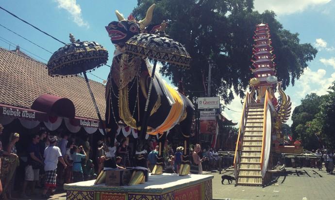 Ceremony in Ubud