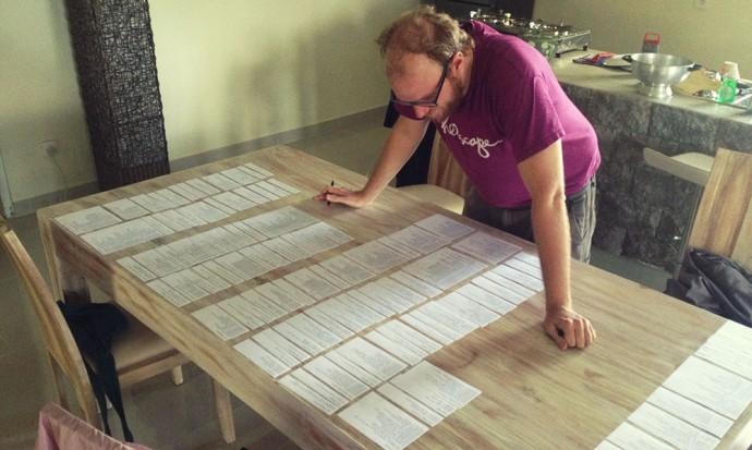 Steve editing Continuum